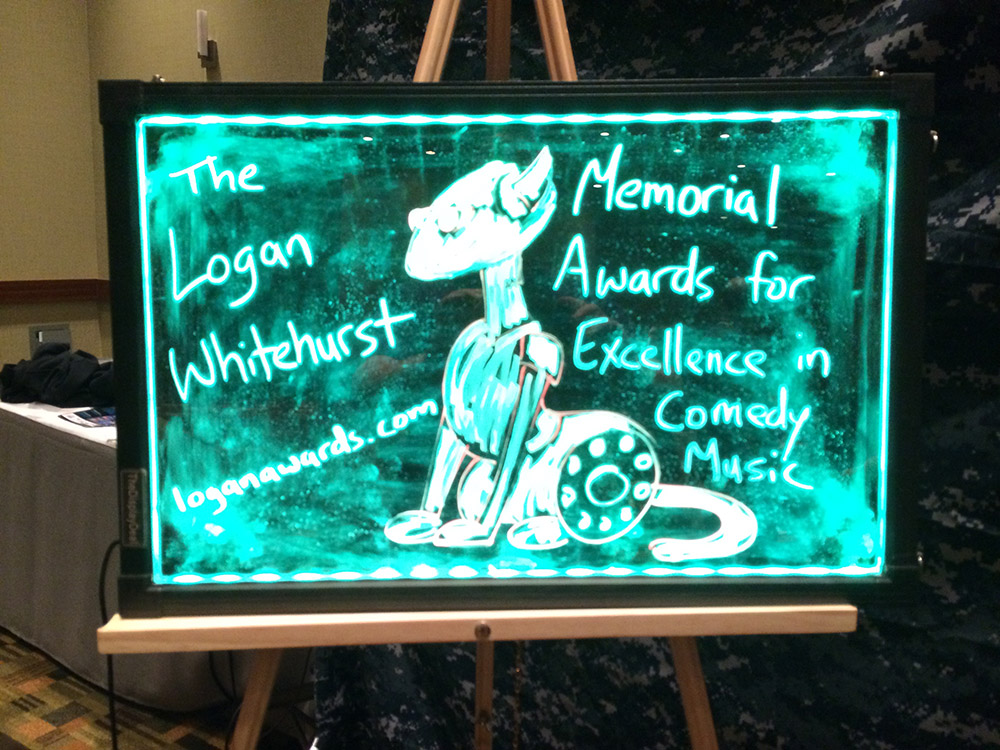 The Logan Awards Sign