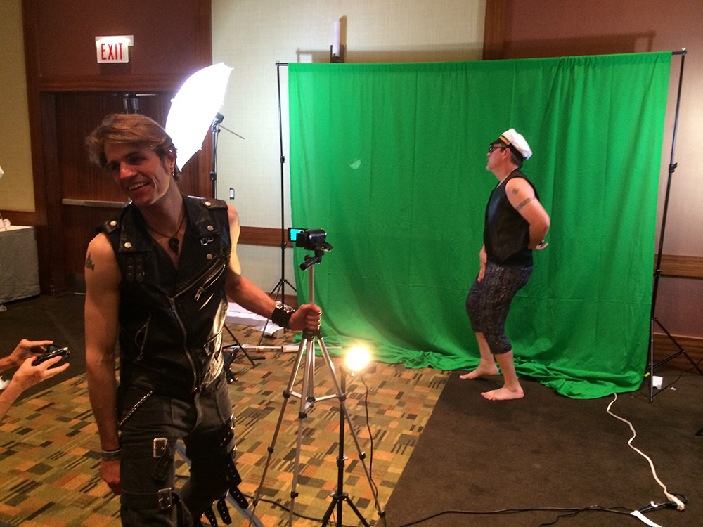 Seamonkey Filming a Music Video