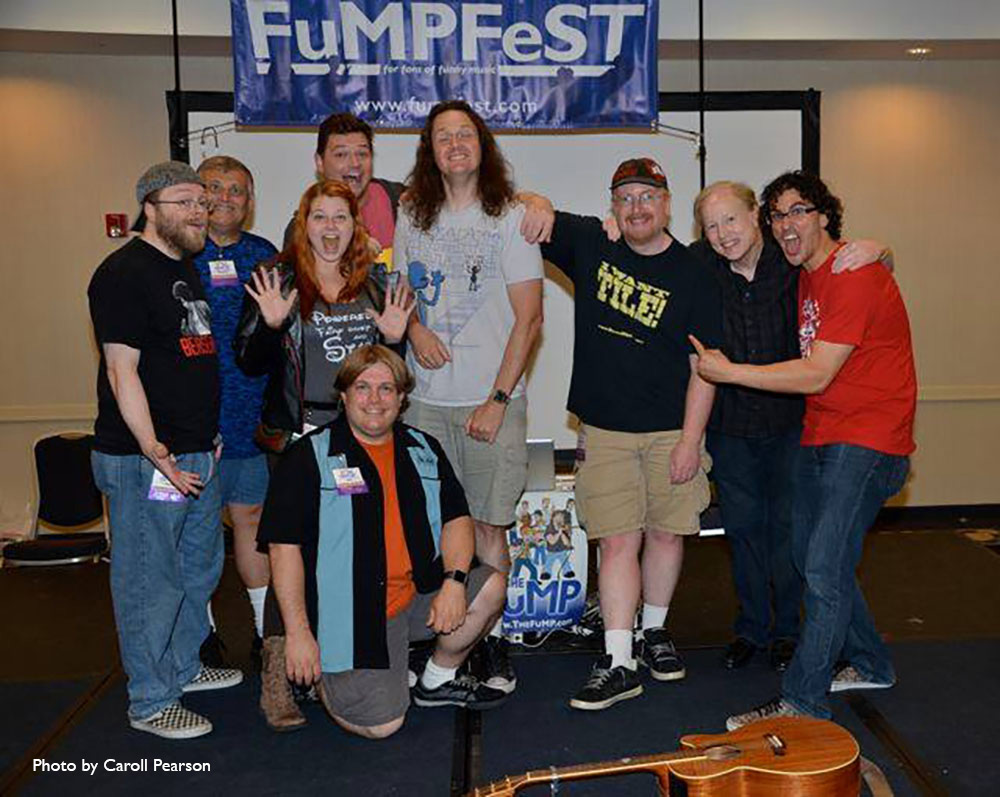 Several of the FuMPFest artists